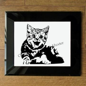 Laughing Kitten Vinyl Design Template